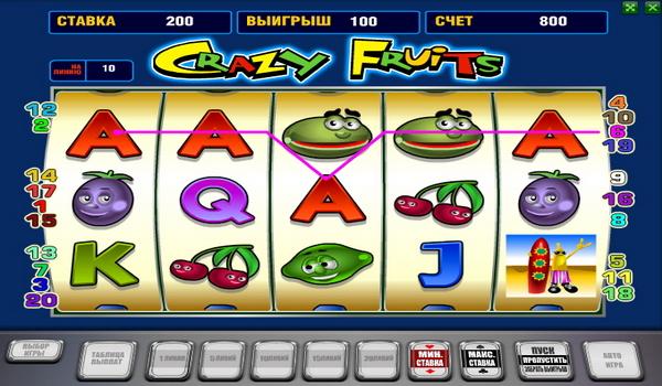 вулкан игровые автоматы крейзи фрукт